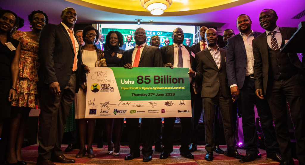 FCA Investments commits four million euros to Yield Fund, supporting the agricultural sector in Uganda. Pictures from the launch event in Kampala on June 27th 2019. Total commitments for Yield Fund is on this day at around 20 million euros.